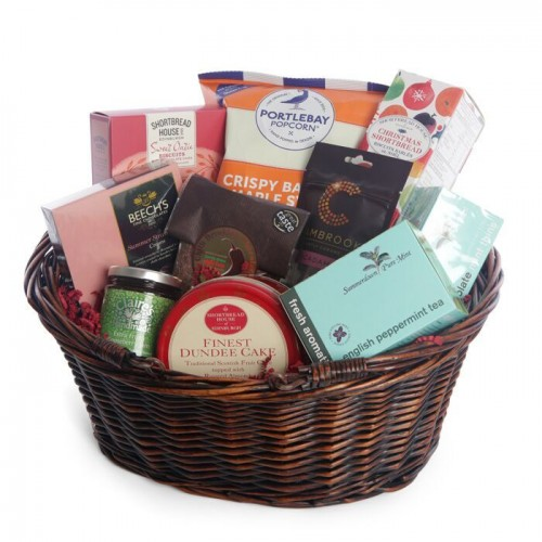 Let it Snow Christmas Hamper - Breakfast Collection